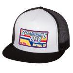 Steamworks Beer Trucker Hat (white front panel) White/Black