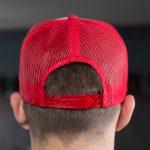 Steamworks Beer Trucker Hat White/Red Back (m)