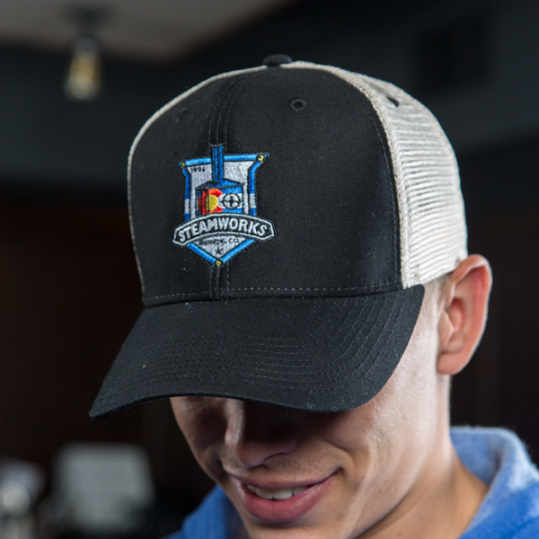 Steamworks Everyday Embroidered Ball Cap Black (m)